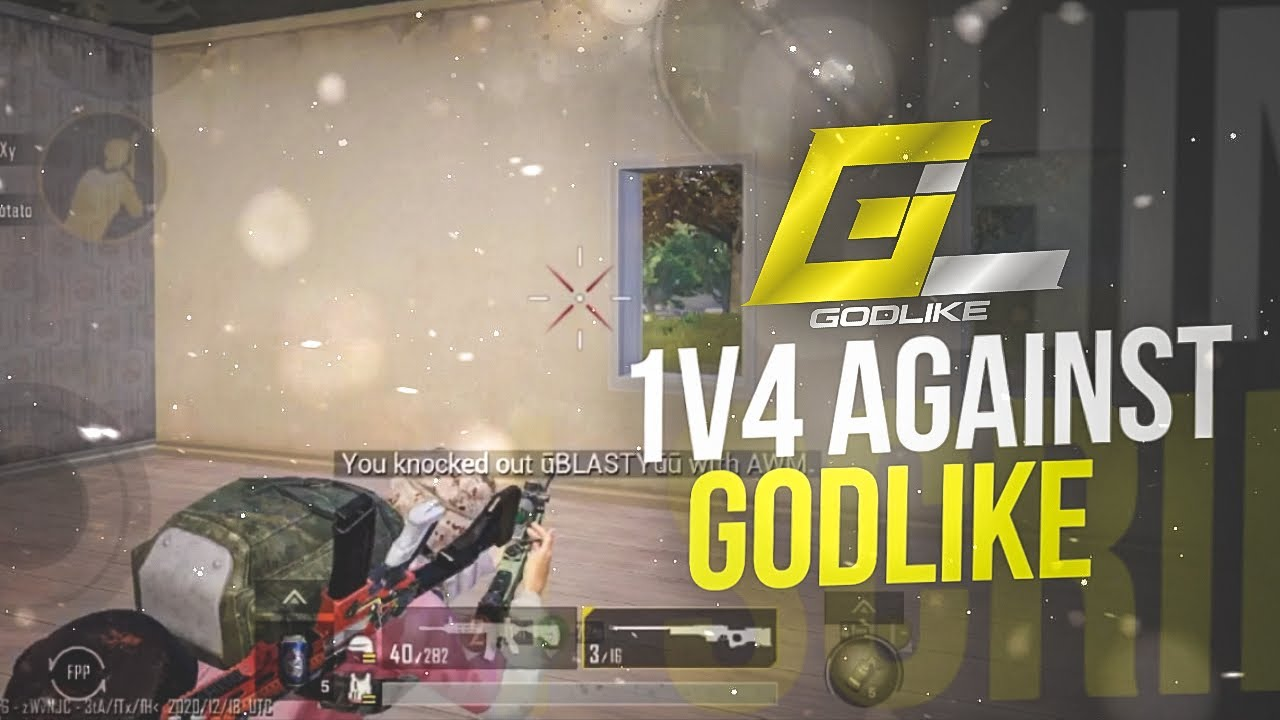 1 v 4 GodLike | Clutching Against T1 Teams | FSpukar | Pukar Plays
