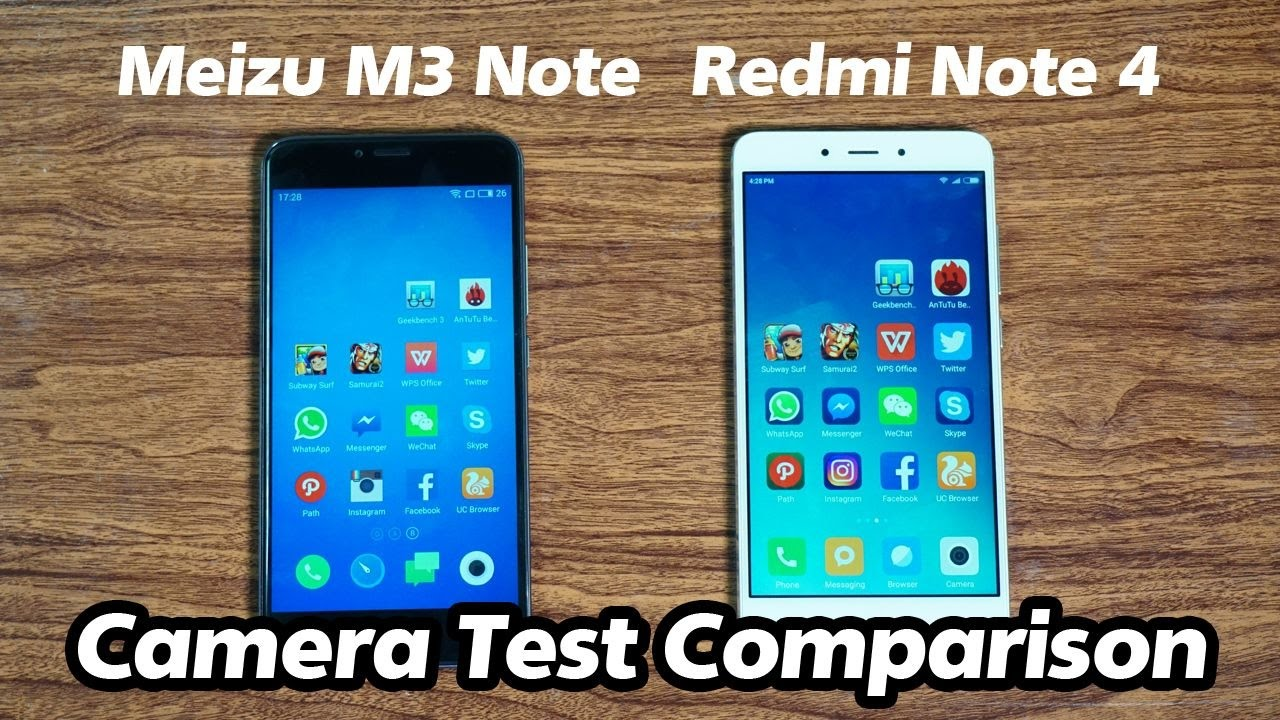 Xiaomi Redmi Note 4 Camera: Xiaomi Redmi Note 4 Vs Meizu M3 Note Camera Test