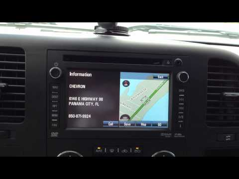 2012/2013 GM HDD Navigation Radio Low Fuel warning
