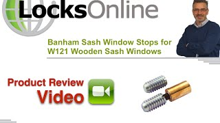 Banham Sash Window Stops for W121 Wooden Sash Windows   LocksOnline Product Reviews