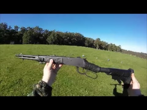 Unboxing my Mossberg 464 SPX 30.30 and first test fire! GOPRO