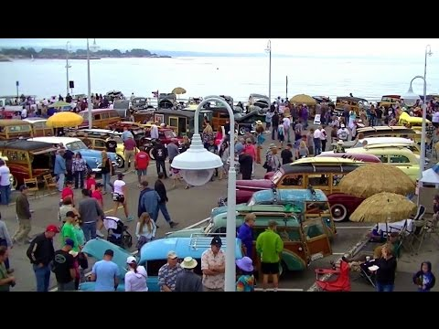 Woodies On The Wharf Santa Cruz Classic Auto Show YouTube - Santa cruz car show