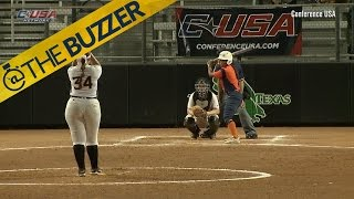 Injured college player does something awesome in her final at-bat