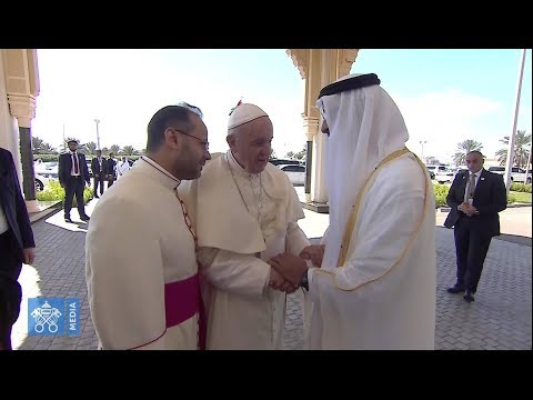 Pope departs United Arab Emirates after expressing gratitude to Crown Prince