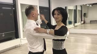 Танцевальные уроки для начинающих. Венский Вальс. Урок №1