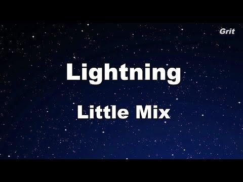 Lightning - Little Mix Karaoke【No Guide Melody】