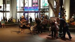 Holy Crow Jazz Band, Downtown Disney, Nov 8, 2018