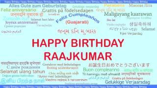 Raajkumar   Languages Idiomas - Happy Birthday