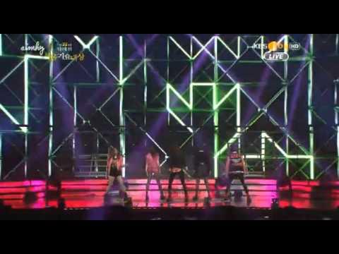 130131 Electric Shock - F(x) Seoul Music Award