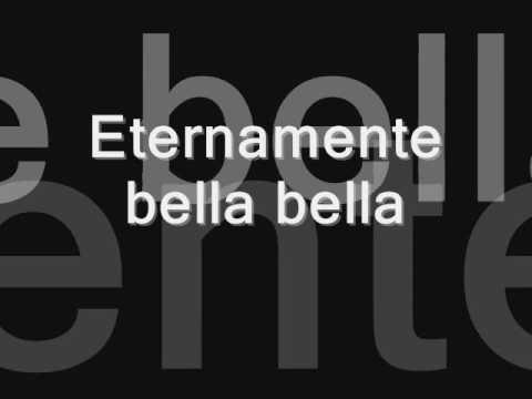 Eternamente bella bella - Alejandra Guzmán (letra)