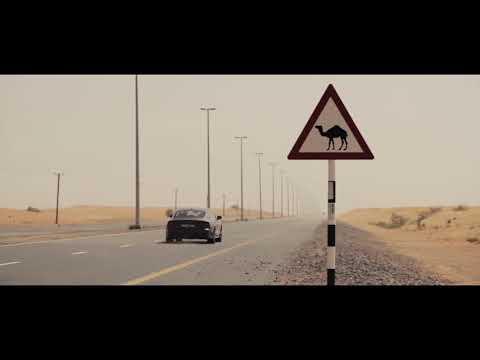 The Audi A7 off-roading in Dubai desert