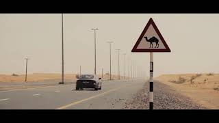 The Audi A7 off-roading in Dubai desert