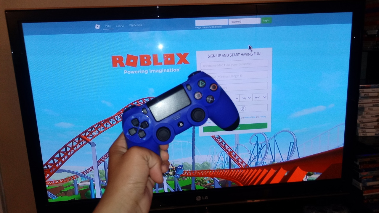 How To Play Download Roblox On Ps4 Tutorial Youtube