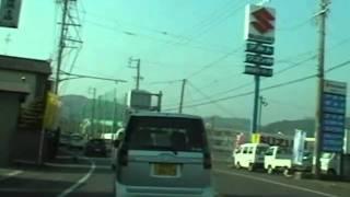 静岡県静岡市葵区安西橋より藁科公民館までの間の動画(2008年)になります。