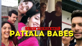 Patiala Babes Latest BTS Offscreen Masti