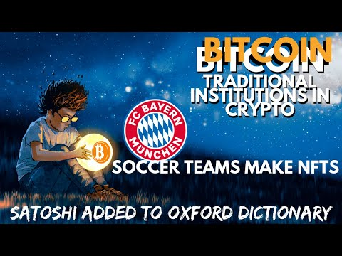 Traditional Institutions BULLISH On Crypto | XMR | Soccer Team Digital Collectibles | Bitcoin News