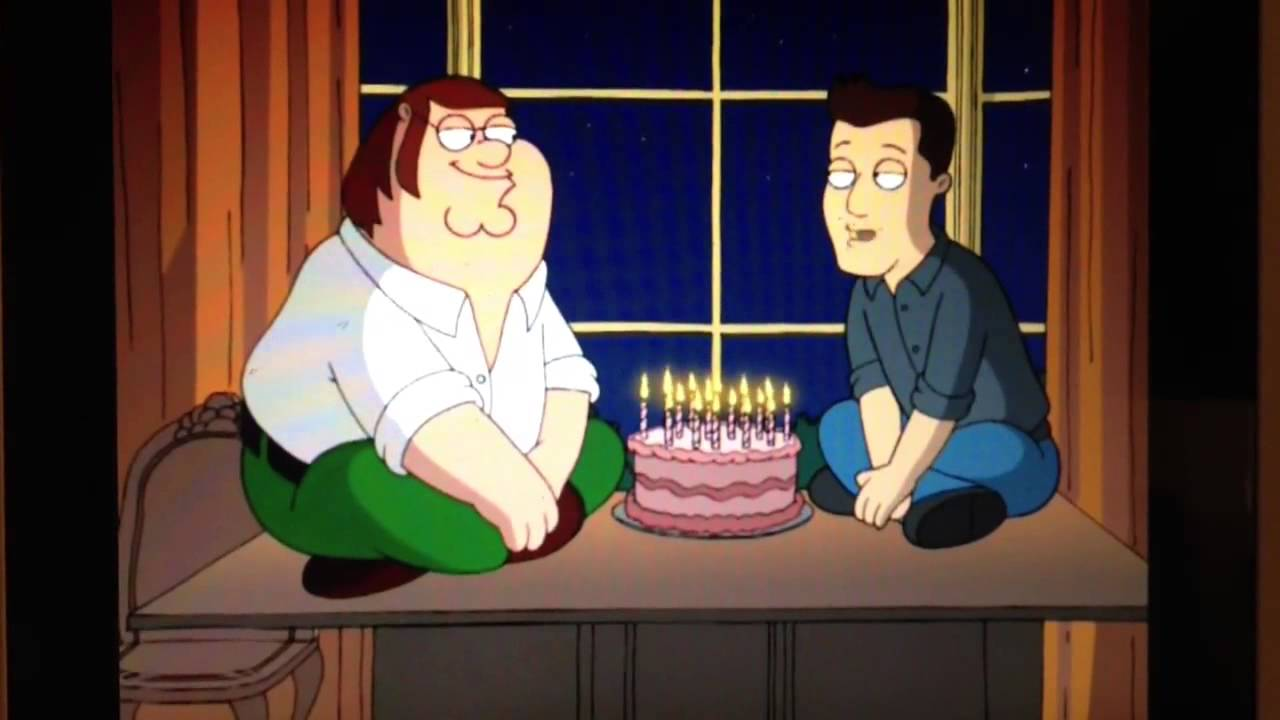 Peter Griffin Gets His Birthday Wish Youtube