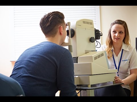 Photographing The Eye - Diabetic Eye Screening