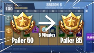 WINNER 35 PALIERS IN 5 MINUTES FREE ON FORTNITE! (PATCH)