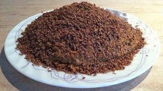 Быстрый торт МУРАВЕЙНИК. Мамулины рецепты.