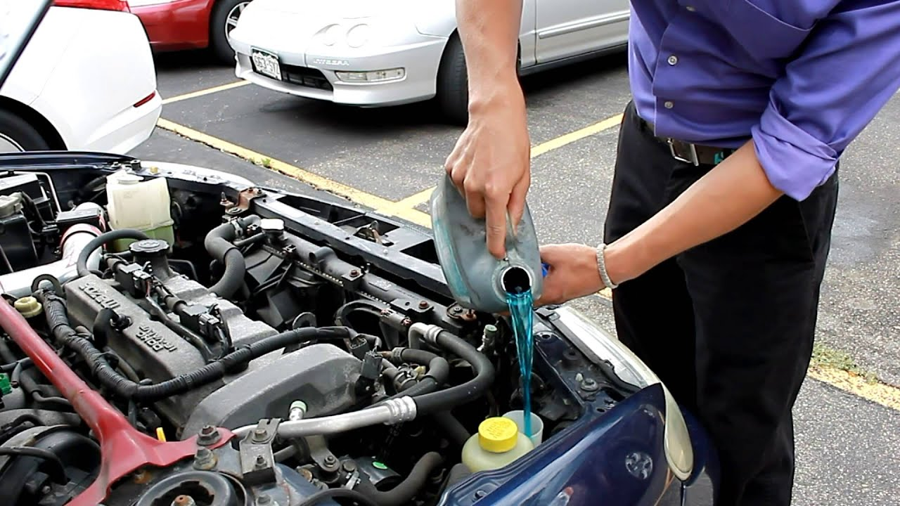 How To Refill Your Vehicles Windshield Washer Fluid Reservoir Youtube
