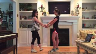 """Best Summer Ever"" *PARTNER* Dance Tutorial (Teen Beach 2)"