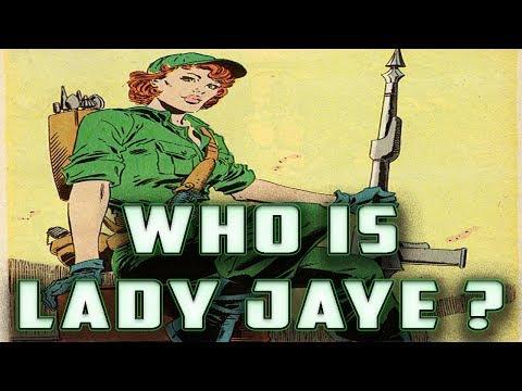 History And Origin Of GI Joe's LADY JAYE !