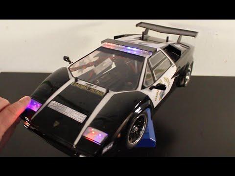 Tamiya Lamborghini Countach Police Cruiser Tt01 Urbanrcla Youtube
