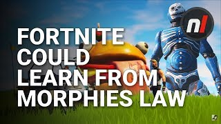 Fortnite Could Learn Something from Morphies Law; Real Motion Controls