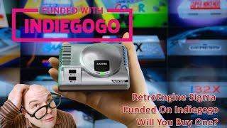 RetroEngine Sigma Has Been Funded on Indiegogo