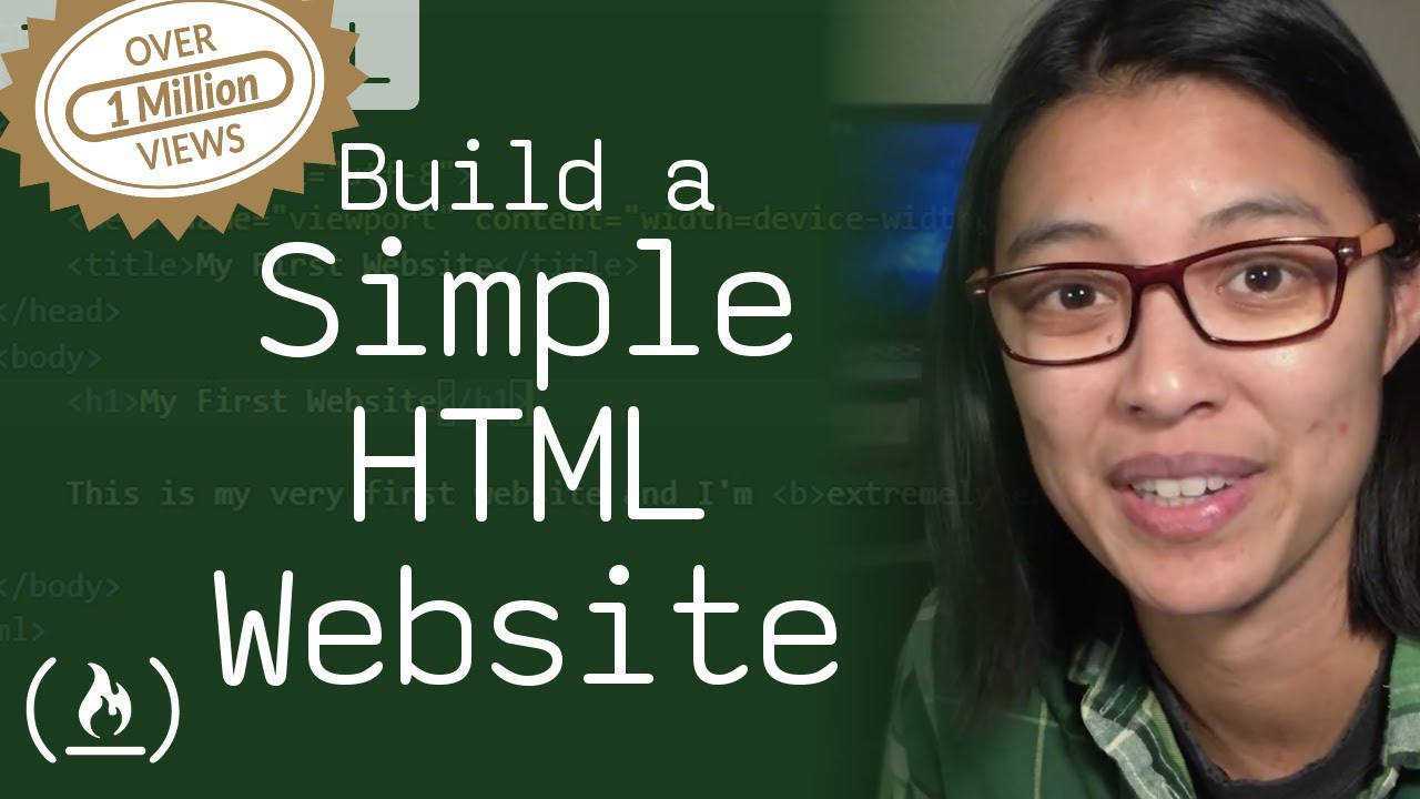Download HTML Tutorial - How to Make a Super Simple Website