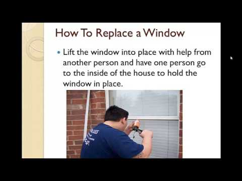 Calgary Window Replacment - How To Replace A Window.mp4
