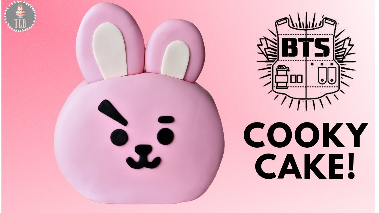 Bt21 Cooky Cake Bts Cake Collab Youtube