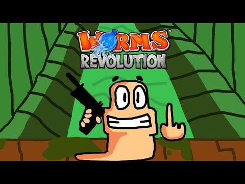 The Boys Play WORMS REVOLUTION - Part 3 |