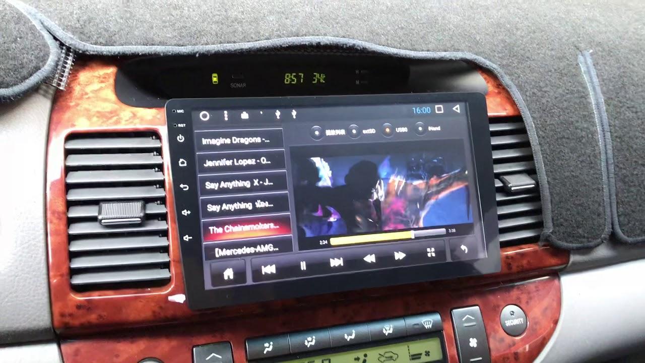 勁聲安卓影音 TOYOTA 02~06年 CAMRY JS安卓系統主機 9吋 全觸控 Android TOYOTA 豐田 #1