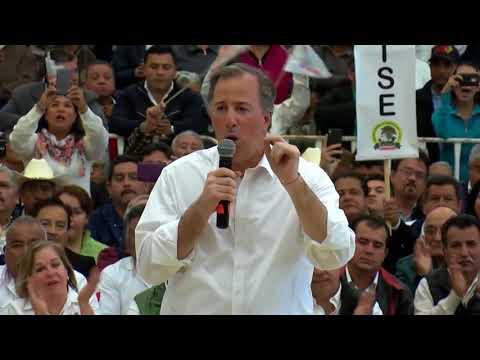 Mensaje de José Antonio Meade durante su encuentro con la militancia priista de Tamaulipas