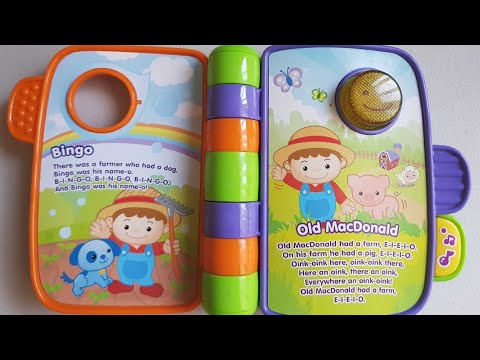 Vtech Babys First Storytime Rhymes And Old Macdonald Song Toy
