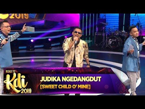 BEST! Judika buat [SWEET CHILD O'MINE] Jadi Dangdut – Road To KDI 2019 (3/7)