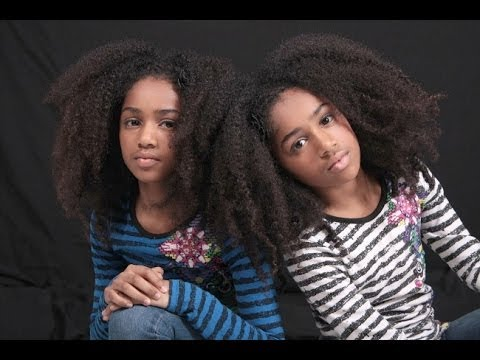 Exclusive Interview with 10 Year Old Twin Dancers; Imani & N