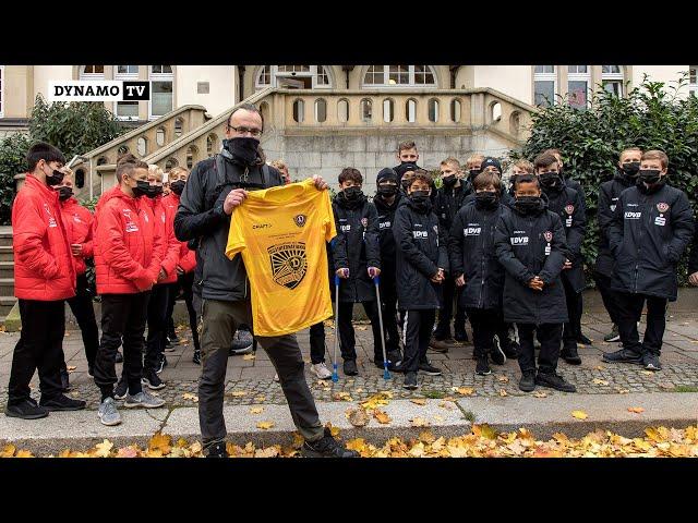 """Startschuss der """"Bildungsflanke - Dynamo Dresden"""""""