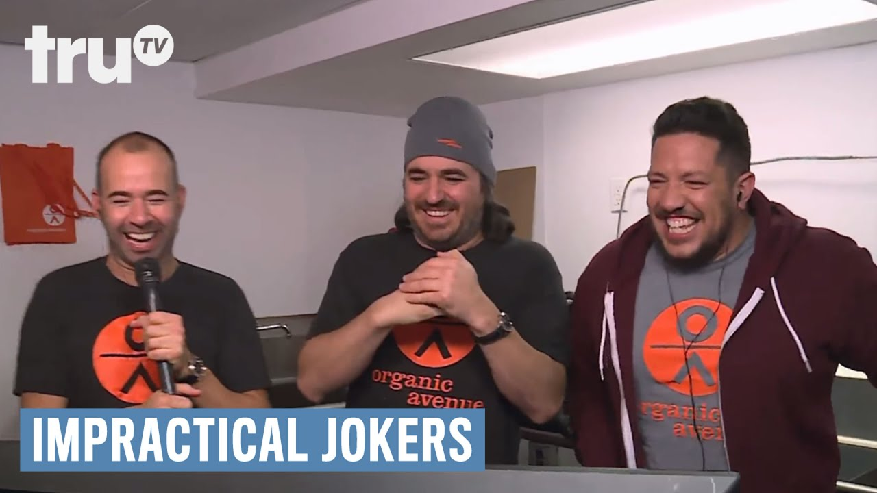 Why Can T Joe From Impractical Jokers Drink