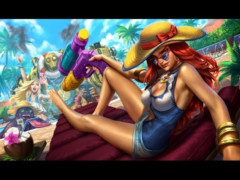 Pool Party Miss Fortune Gameplay PBE