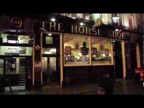 The Horse Shoe Bar, Glasgow, Scotland - a pie and a pint