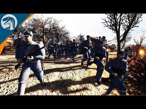CHINESE ARTILLERY IN ACTION | Rising Sun Mod | Men of War: Assault Squad 2 [MOD] Gameplay