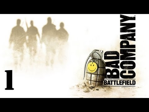 Battlefield Bad Company Walkthrough Part 1 HD
