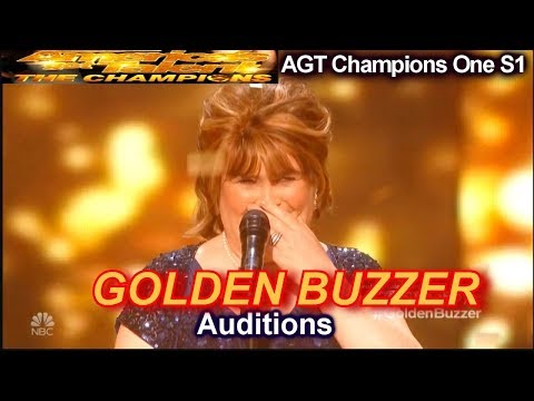 "Susan Boyle ""Wild Horses"" WINS GOLDEN BUZZER Audition 