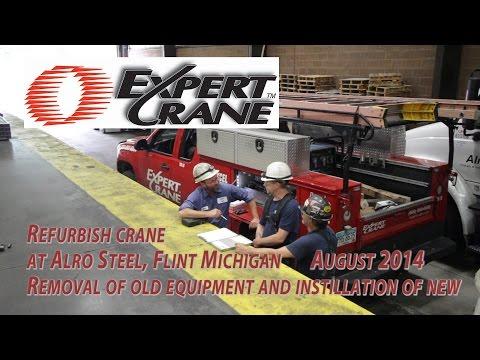 Expert Crane Refurbish 8/22/14