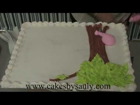Decoracion de pasteles con sauly una jungla youtube for Decoracion de tortas espejo