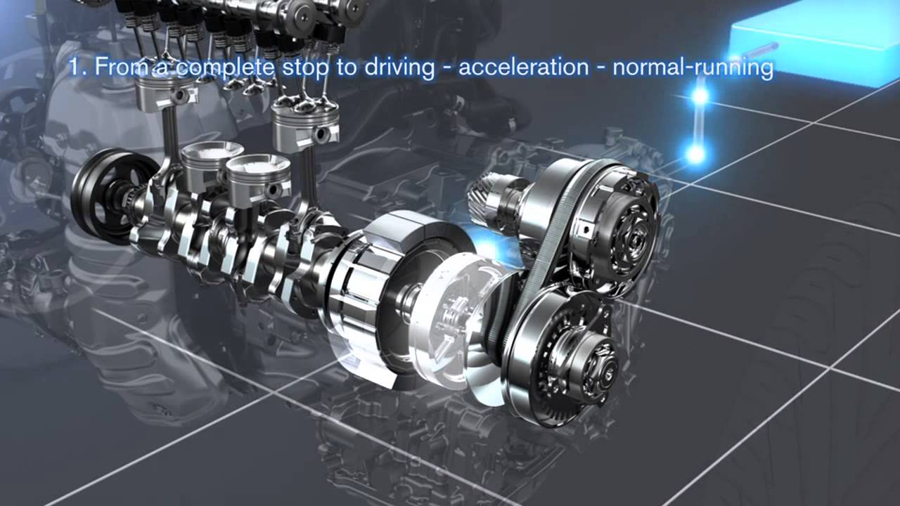 Nissan Ff Hybrid System Automototv Youtube
