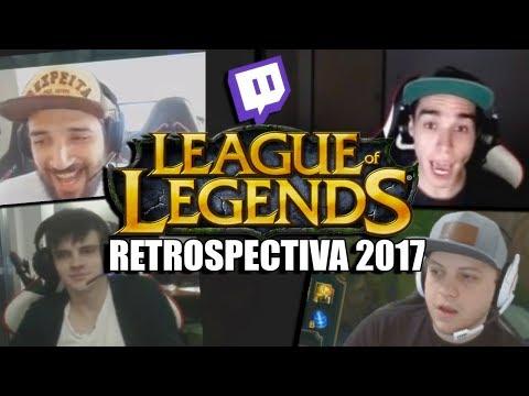 RETROSPECTIVA LOL 2017 - RAGES E MOMENTOS ENGRAÇADOS DAS LIVES